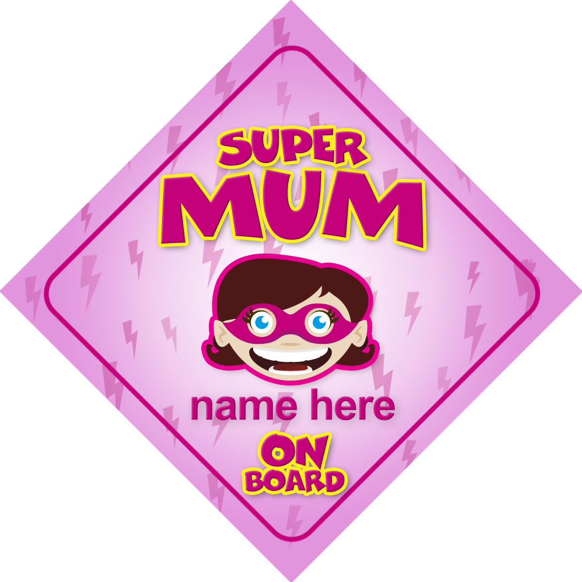 Baby On Board Signs Choose From Over 30 Personalised